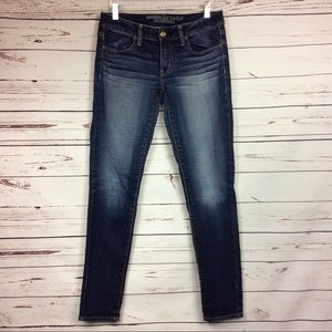 [AEO] Jegging Style Skinny Jeans, Dark Wash